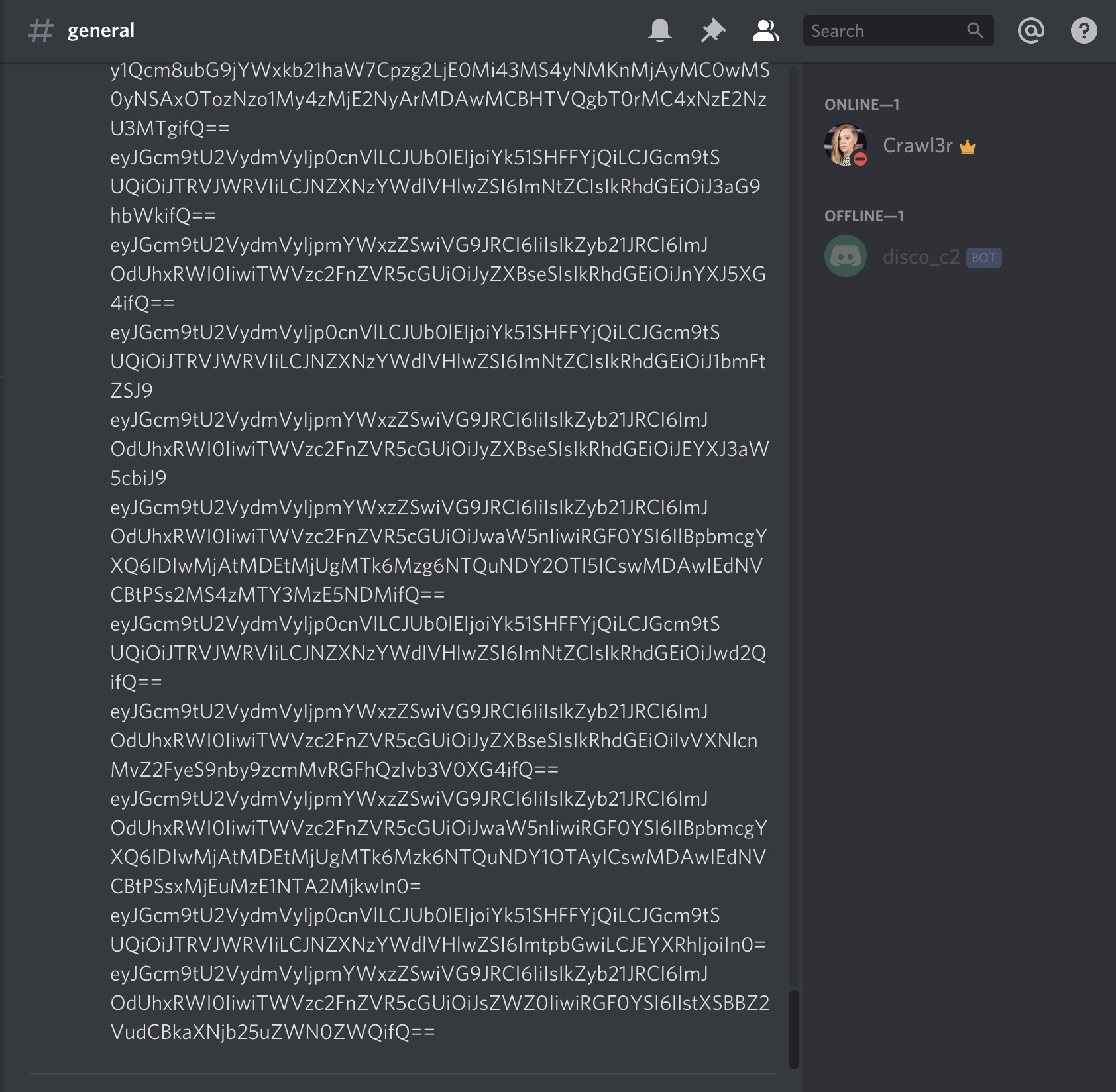 Discord communication